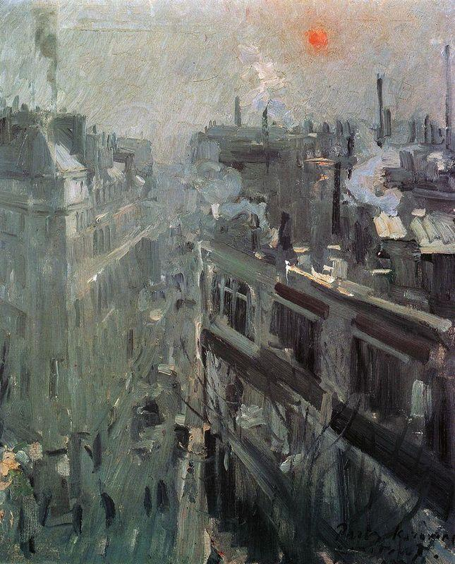 Paris.Morning - Konstantin Korovin