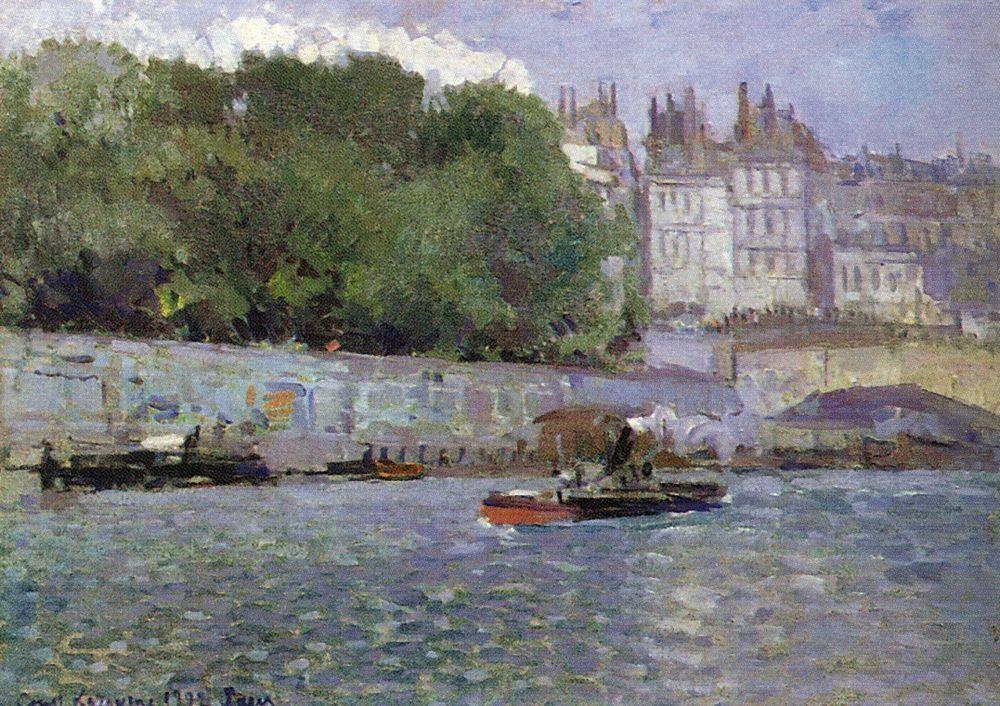 Paris.Seine - Konstantin Korovin