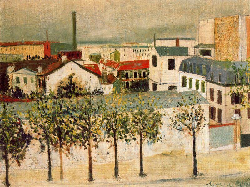 Paris suburbs - Maurice Utrillo