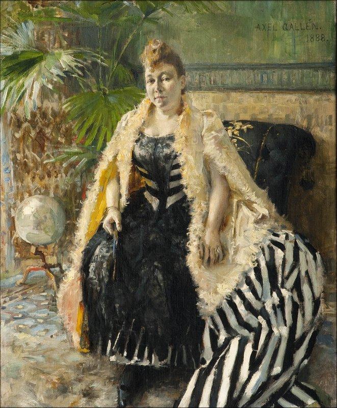 Parisienne  - Akseli Gallen-Kallela