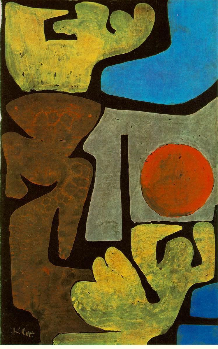 Park of idols - Paul Klee