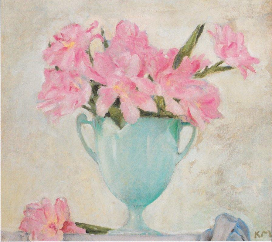 Parrot tulips bloomed - Koloman Moser