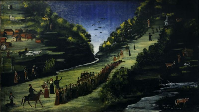 Party by the River Tskheniszkali - Niko Pirosmani