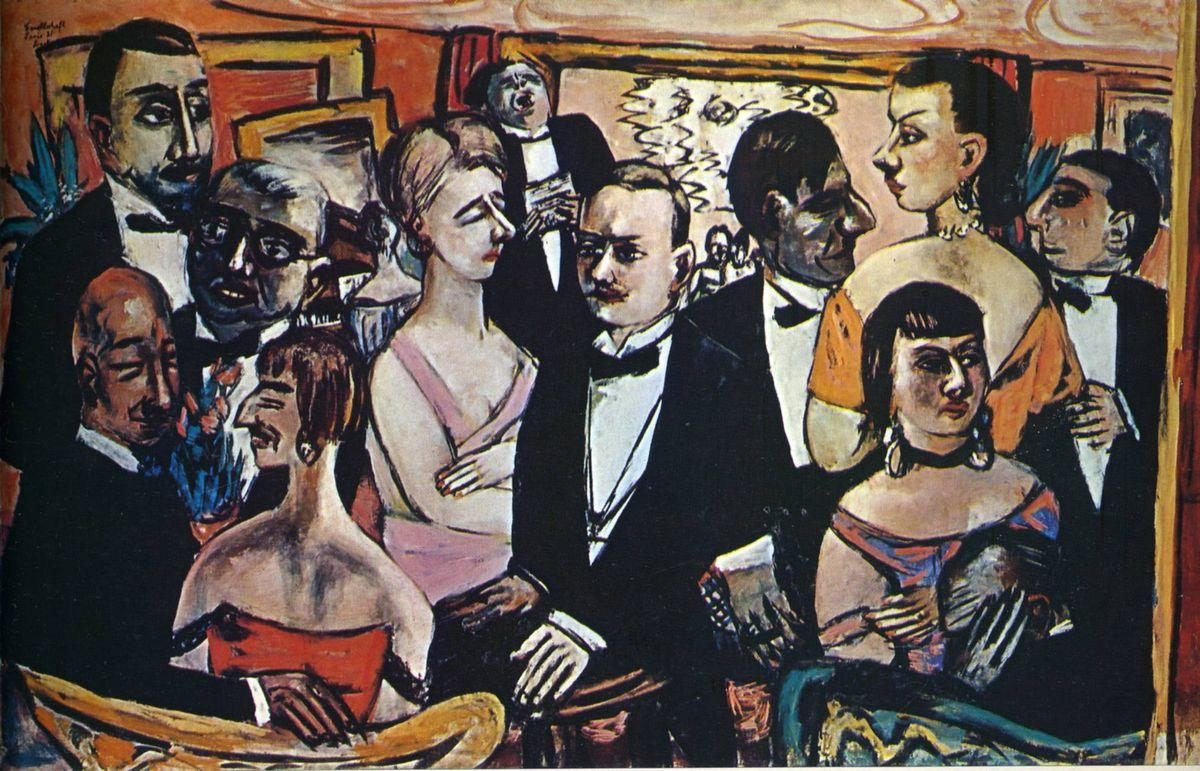 Party in Paris - Max Beckmann