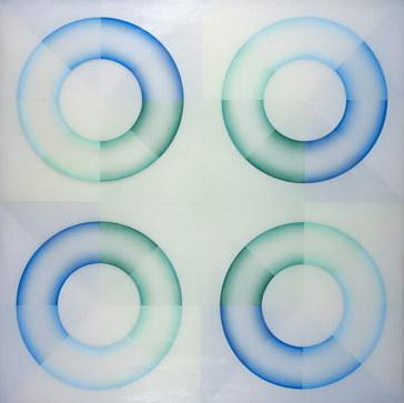 Pasadena Lifesavers Blue Series #2 - Judy Chicago