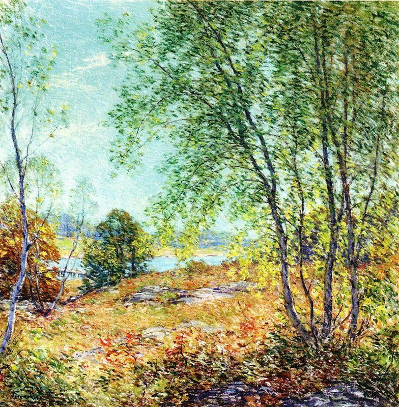 Passing Summer - Willard Metcalf