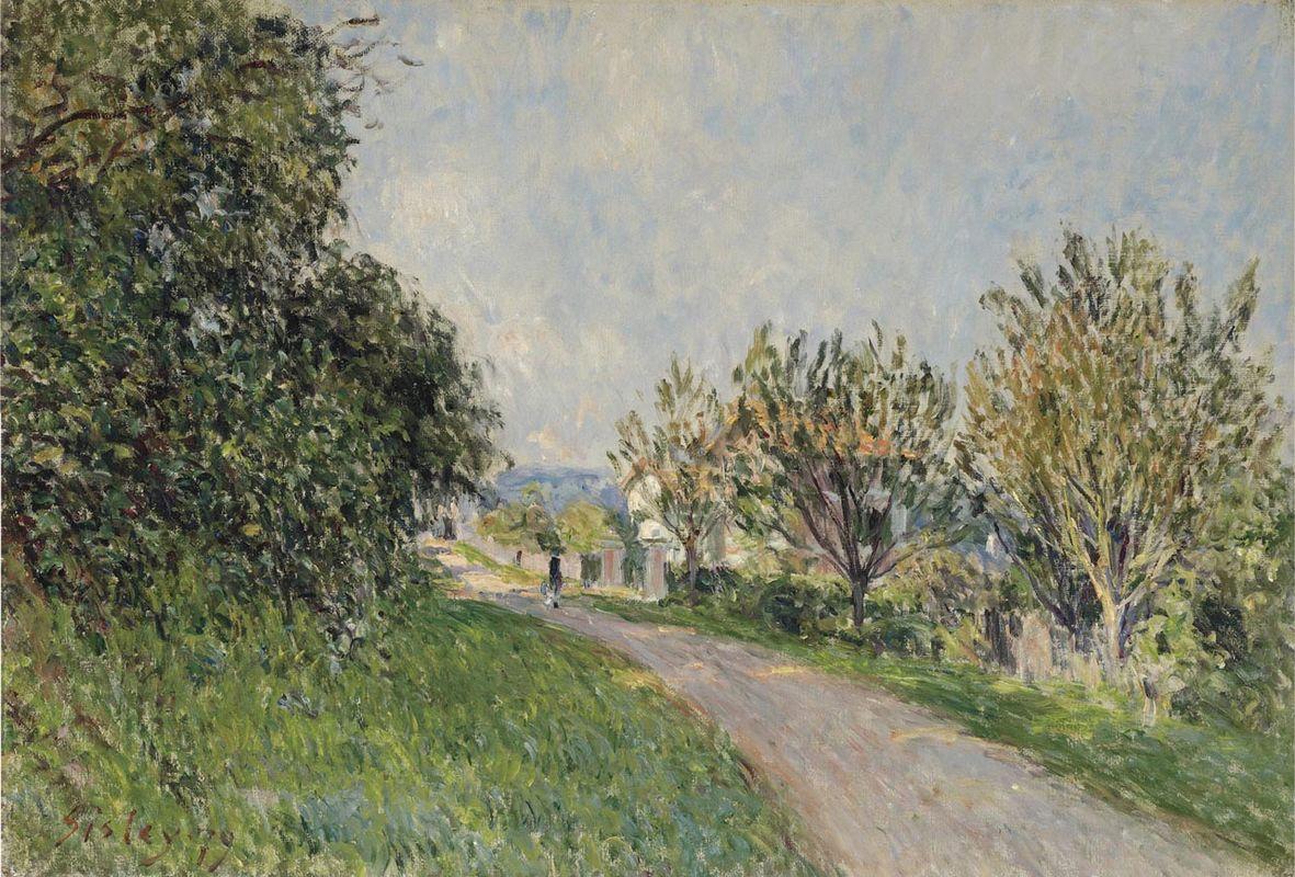Path near Sevres - Alfred Sisley