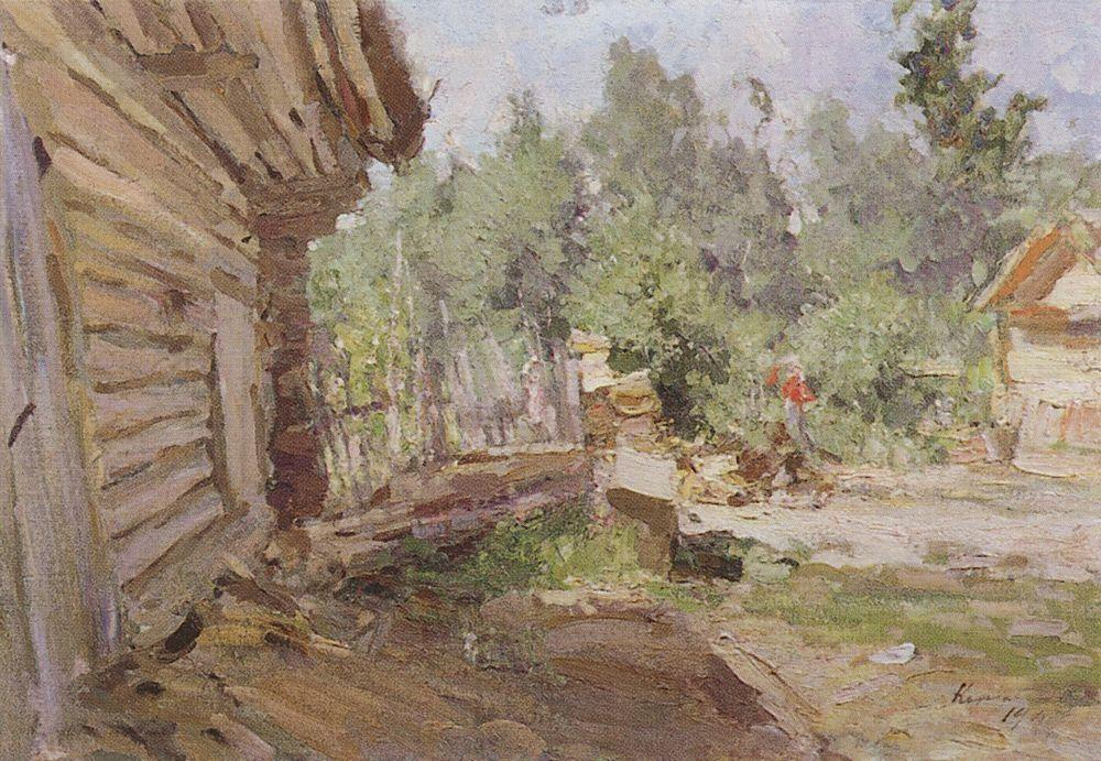 Patio  - Konstantin Korovin