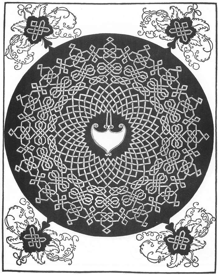 Pattern from the Series of Six Knots - Albrecht Durer