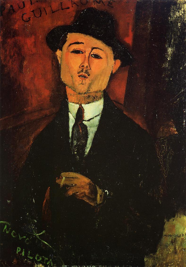 Paul Guillaume  - Amedeo Modigliani
