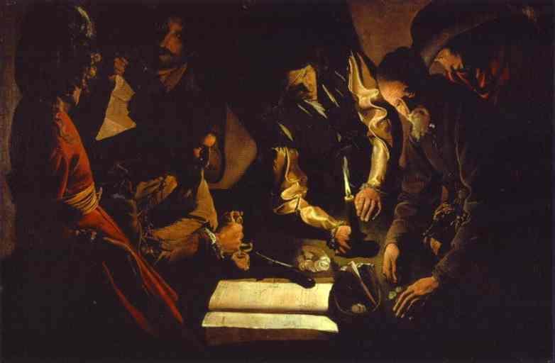 Payment of Taxes - Georges de la Tour