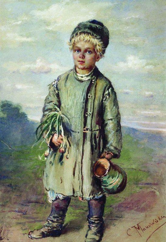 Peasant Boy - Konstantin Makovsky