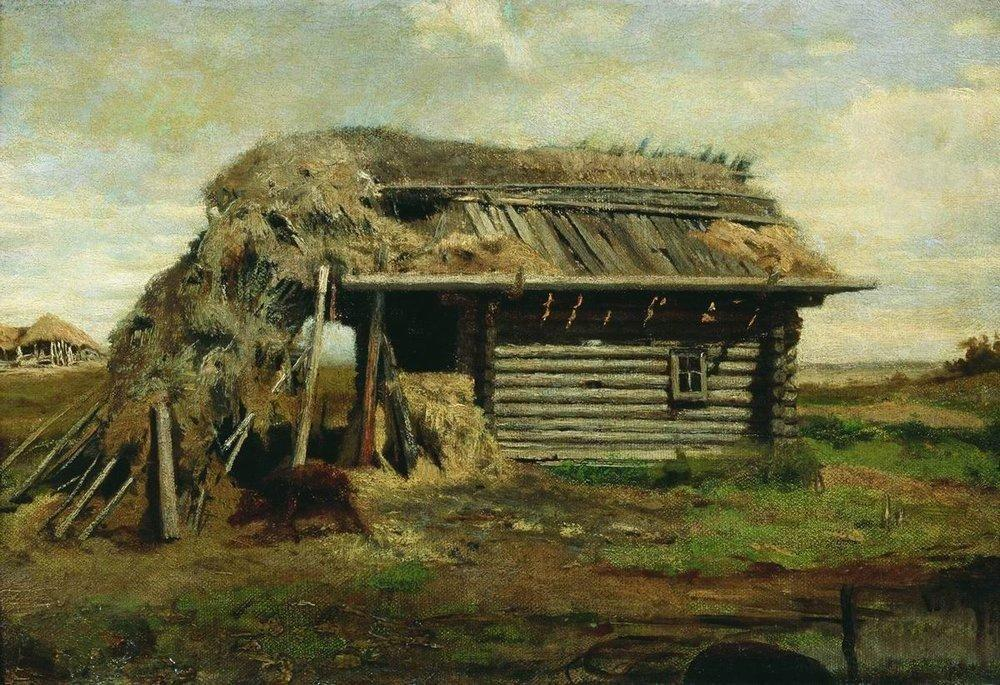 Peasant's House - Fyodor Vasilyev