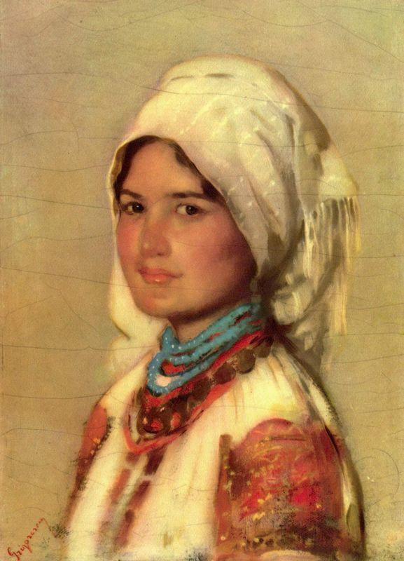 Peasant Woman from Muscel - Nicolae Grigorescu
