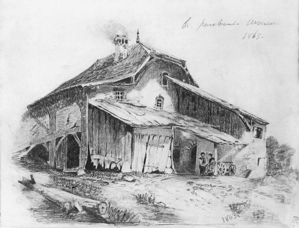 Peasants Hut - Fyodor Vasilyev