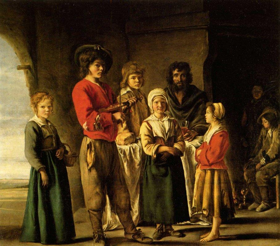 Peasants in the cave house - Le Nain brothers