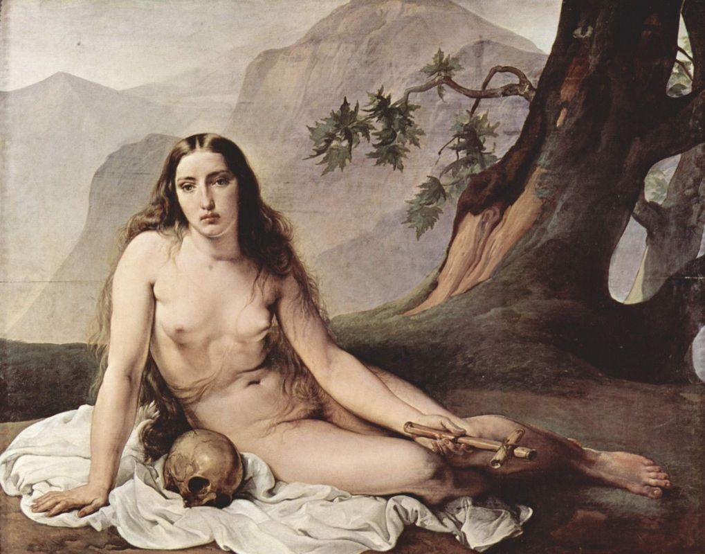 Penitent Mary Magdalene - Francesco Hayez