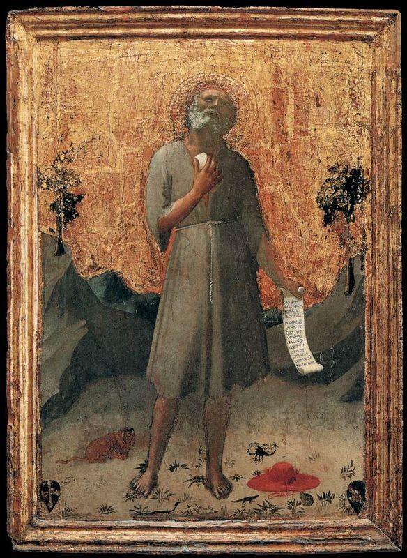 Penitent St. Jerome - Fra Angelico