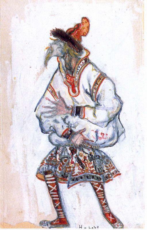 People (Old man) - Nicholas Roerich