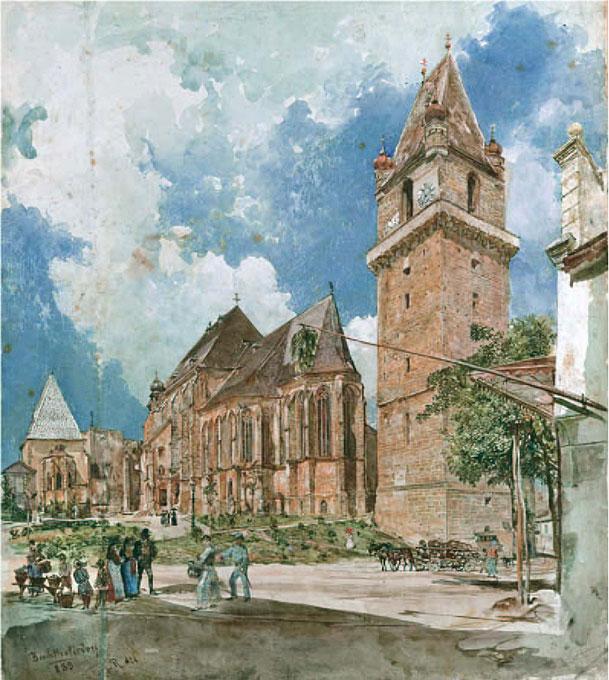 Perchtoldsdorf - Rudolf von Alt