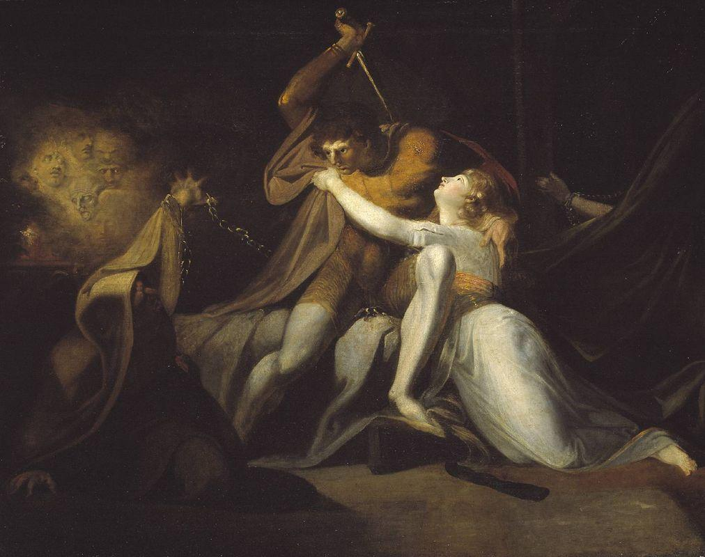 Percival Delivering Belisane from the Enchantment of Urma - Henry Fuseli