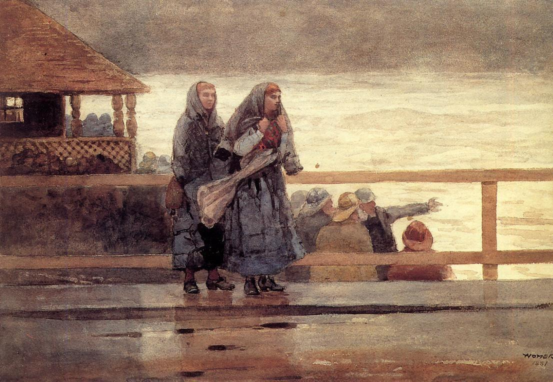 Perils of the Sea - Winslow Homer