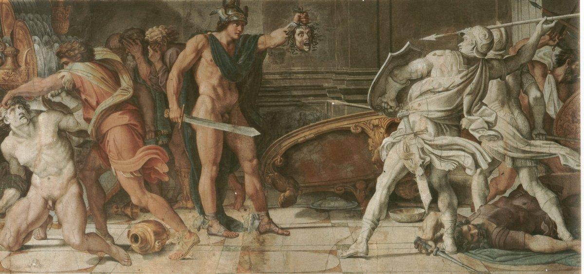 Perseus and Phineas - Annibale Carracci