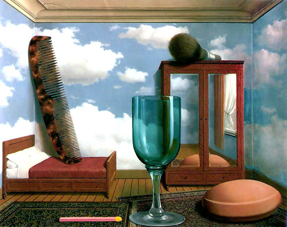 Personal values - Rene Magritte