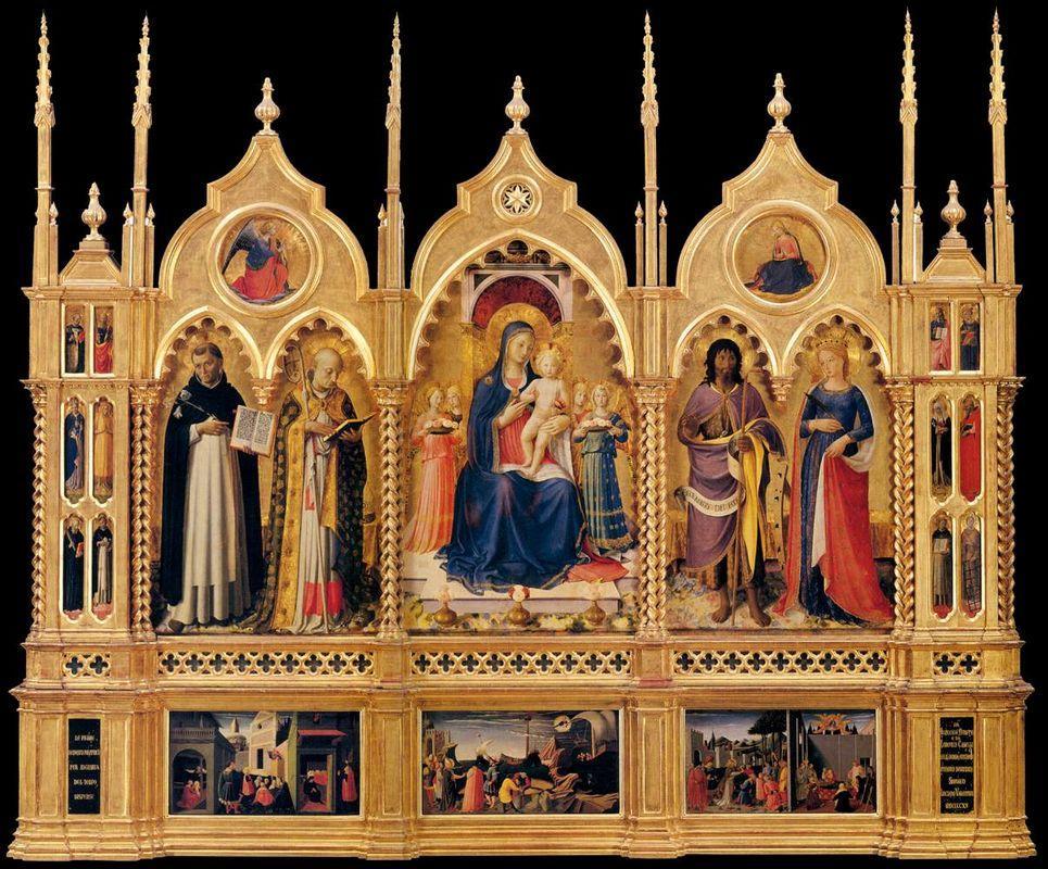 Perugia Altarpiece  - Fra Angelico
