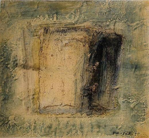 Petite boite caree - Jean Fautrier