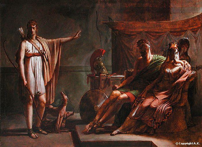 Phaedra and Hippolytus - Pierre-Narcisse Guerin