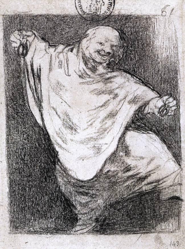 Phantom Dancing with Castanets - Francisco Goya