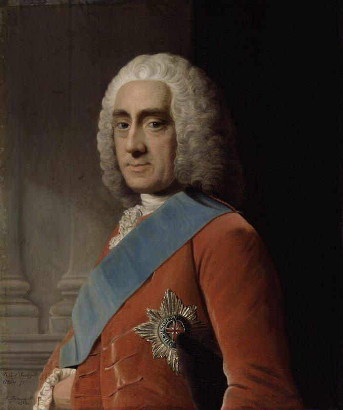 Philip Dormer Stanhope, 4th Earl of Chesterfield - Allan Ramsay