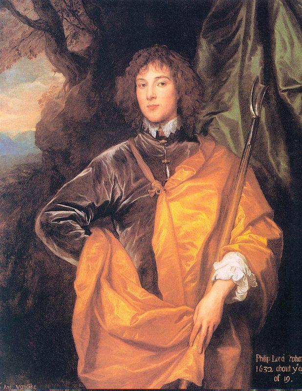 Philip, Fourth Lord Wharton - Anthony van Dyck