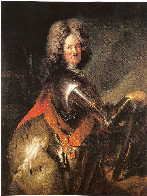 Philipp Wilhelm of Brandenburg Schwedt - Antoine Pesne