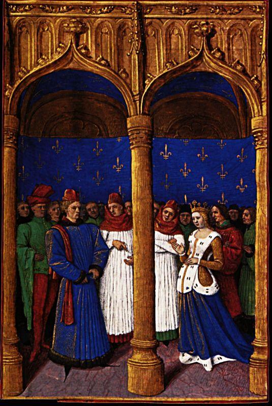 Philippe de Valois appointed regent - Jean Fouquet