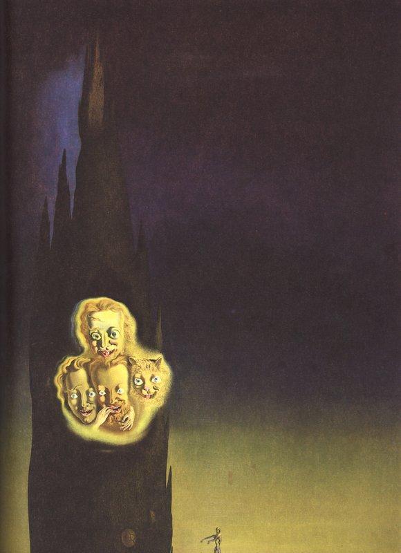 Phosphene of Laporte - Salvador Dali