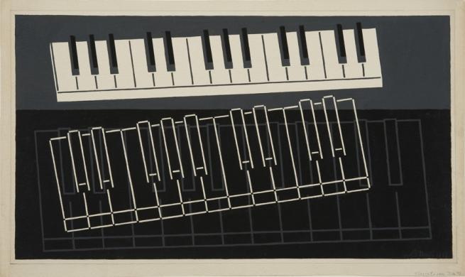 Piano Keys - Josef Albers