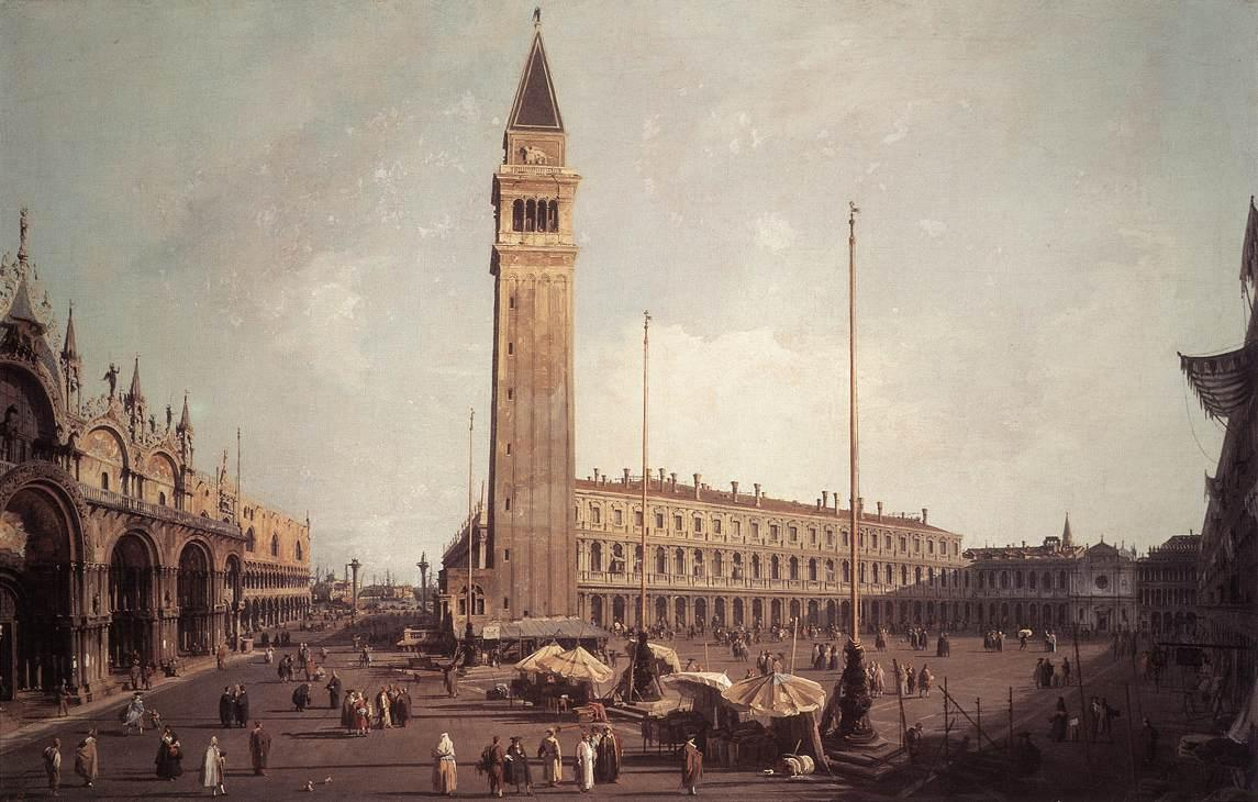 Piazza San Marco: Looking South West - Canaletto