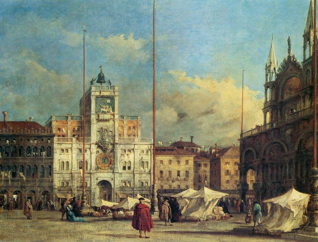 Piazza San Marco, Venice - Francesco Guardi