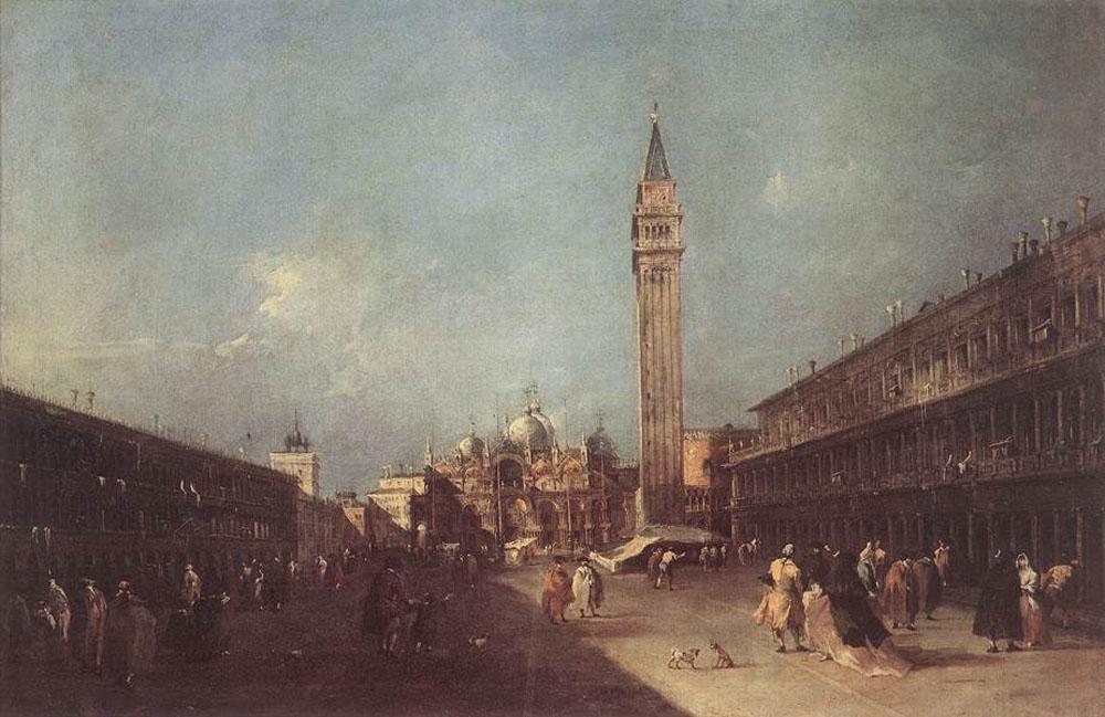 Piazza San Marco - Francesco Guardi