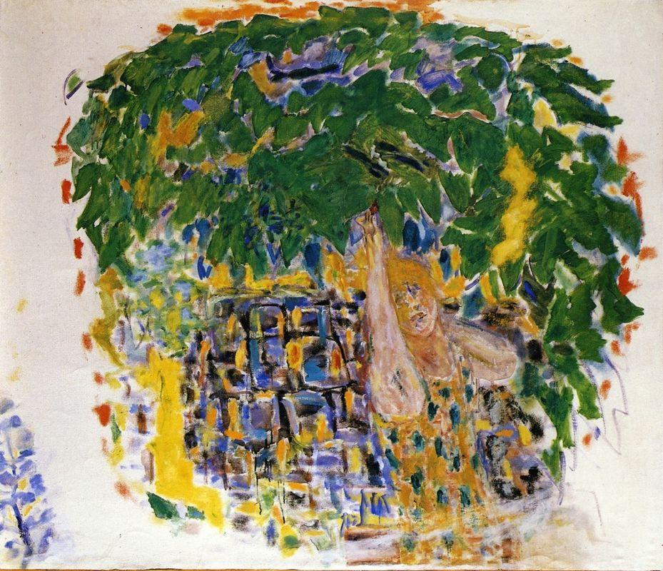 Picking Cherries - Pierre Bonnard