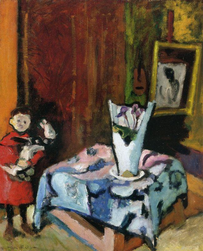 Pierre with Wooden Horse - Henri Matisse