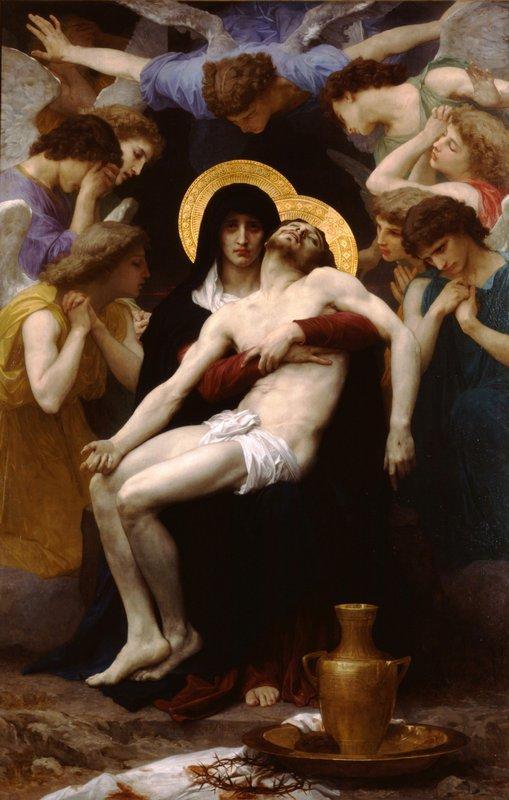 Pieta - William-Adolphe Bouguereau