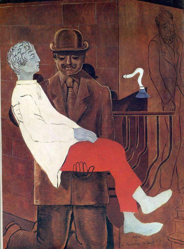 Pieta (Revolution by Night) - Max Ernst