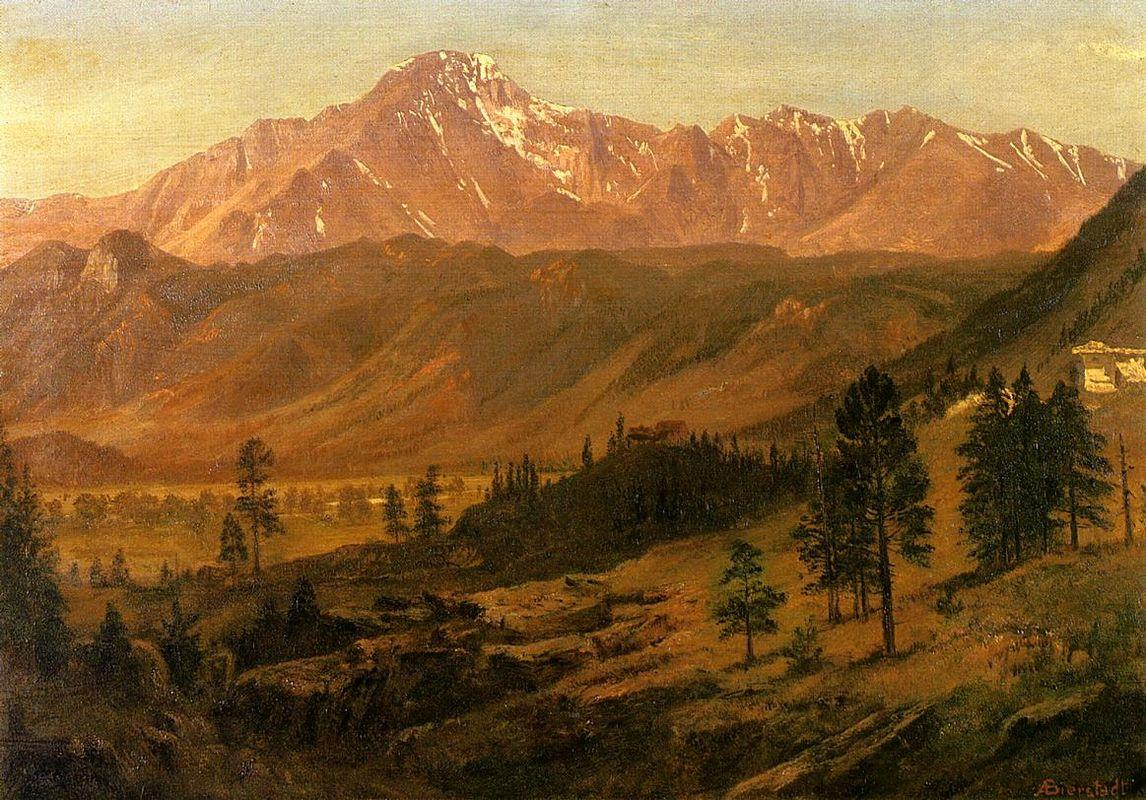 Pikes Peak - Albert Bierstadt