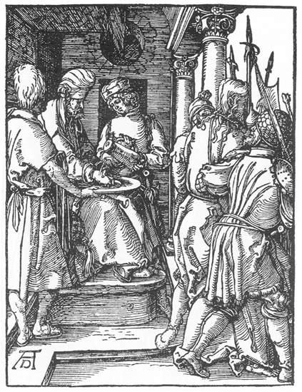 Pilate Washing His Hands - Albrecht Durer
