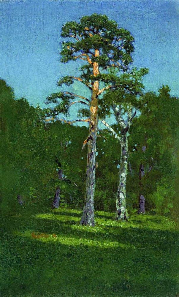 Pine - Arkhip Kuindzhi