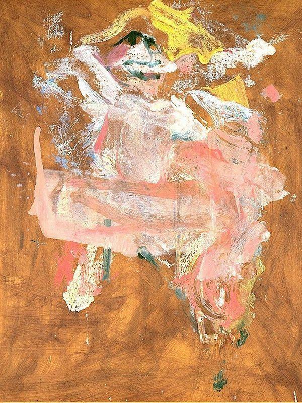 Pink Lady - Willem de Kooning