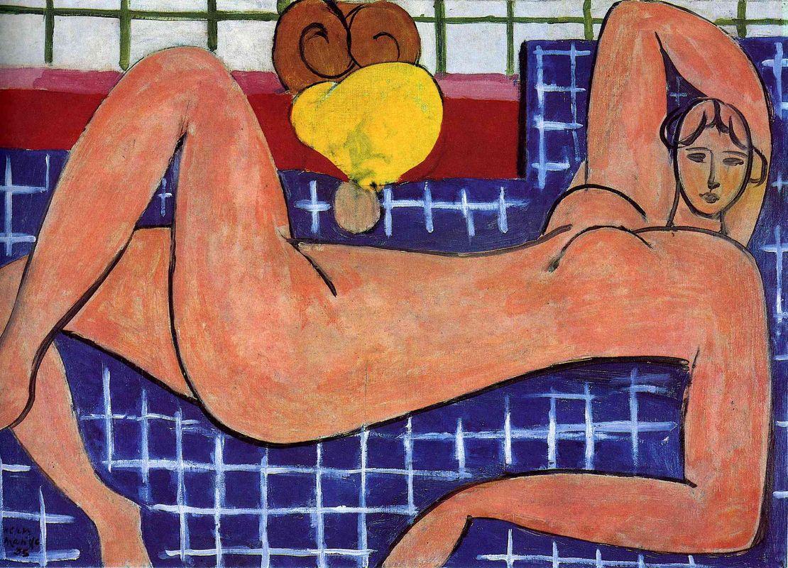 Pink Nude - Henri Matisse